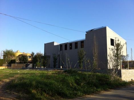 nova construcció al poble de Fontanilles