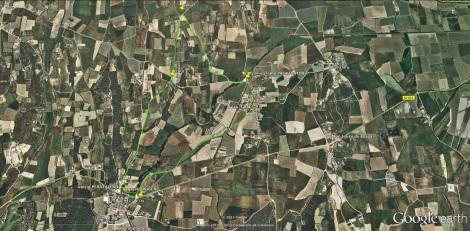 ruta verde 6.250 mts